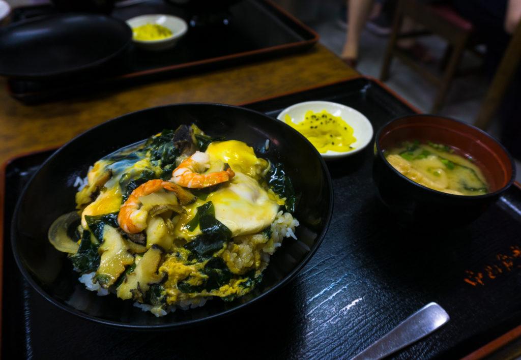 Turban Shell Rice Bowl in Fukuoka, Japan