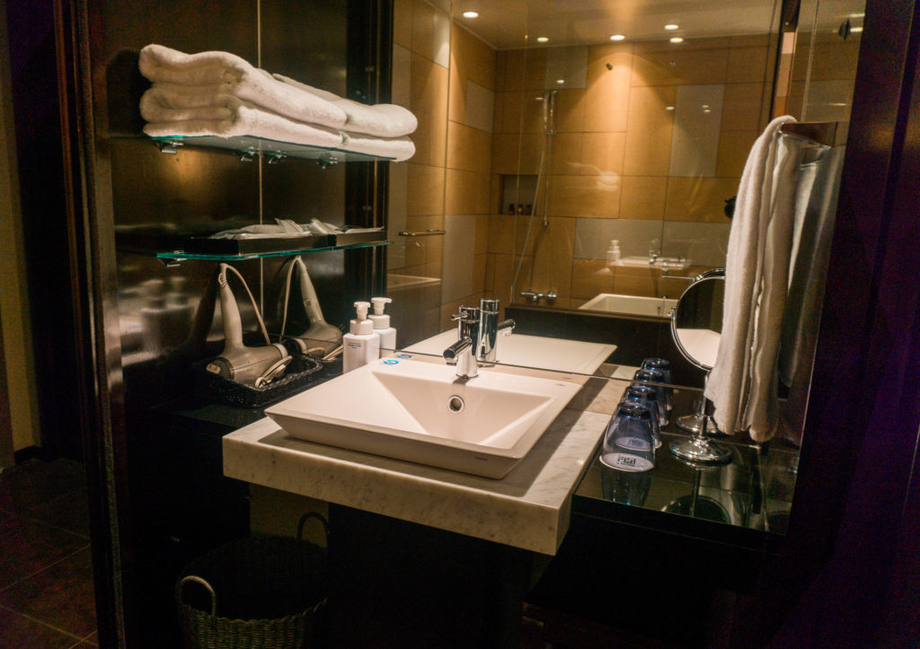 Bathroom at Hotel Il Palazzo - Fukuoka