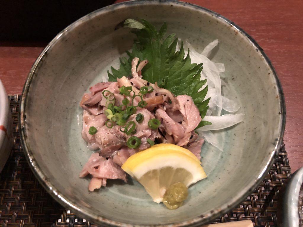 Chicken ham from Hanamidori - Fukuoka