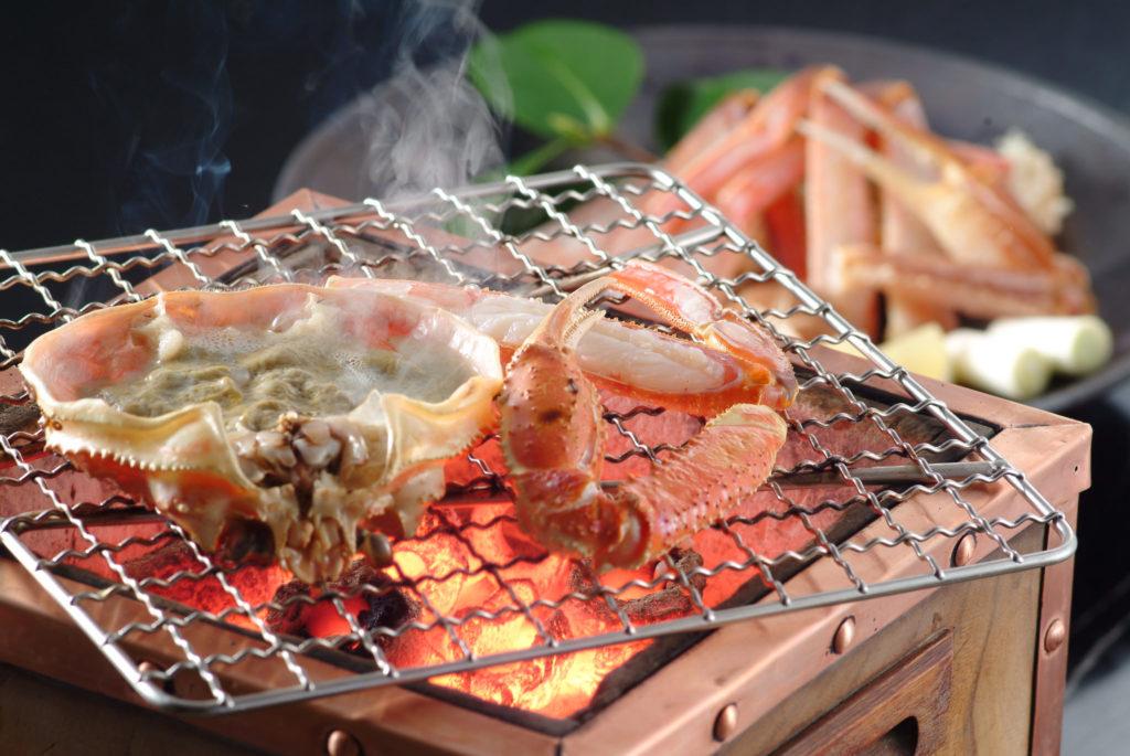 Matsuba Crab - Restaurant Ricca at Nishimuraya Hotel Shogetsutei - Kinosaki Onsen ryokan in Japan