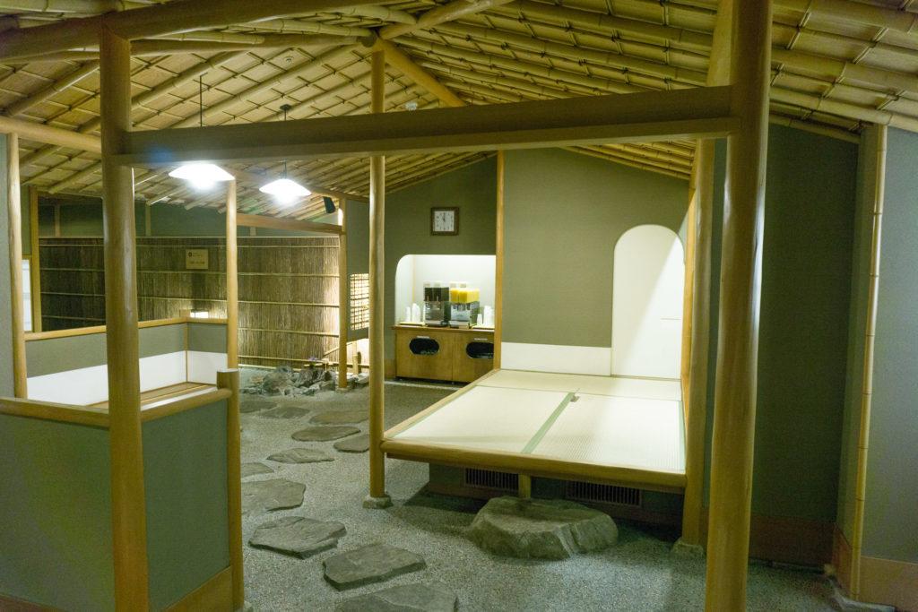 Entrance to the Public Hot Spring Onsen at Nishimuraya Hotel Shogetsutei - Kinosaki Onsen ryokan
