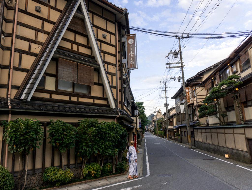 Streets of Kinosaki Onsen, Japan