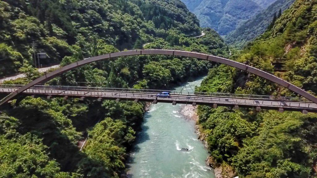 Japan road trip - Gokanosho bridge