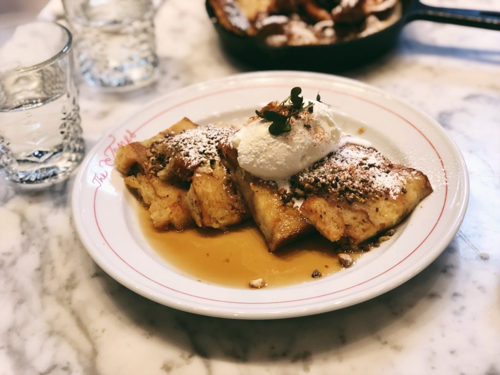 French Toast at The Jones Assembly