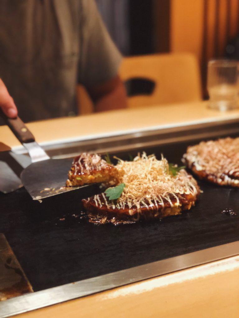 Okonomiyaki in Japan
