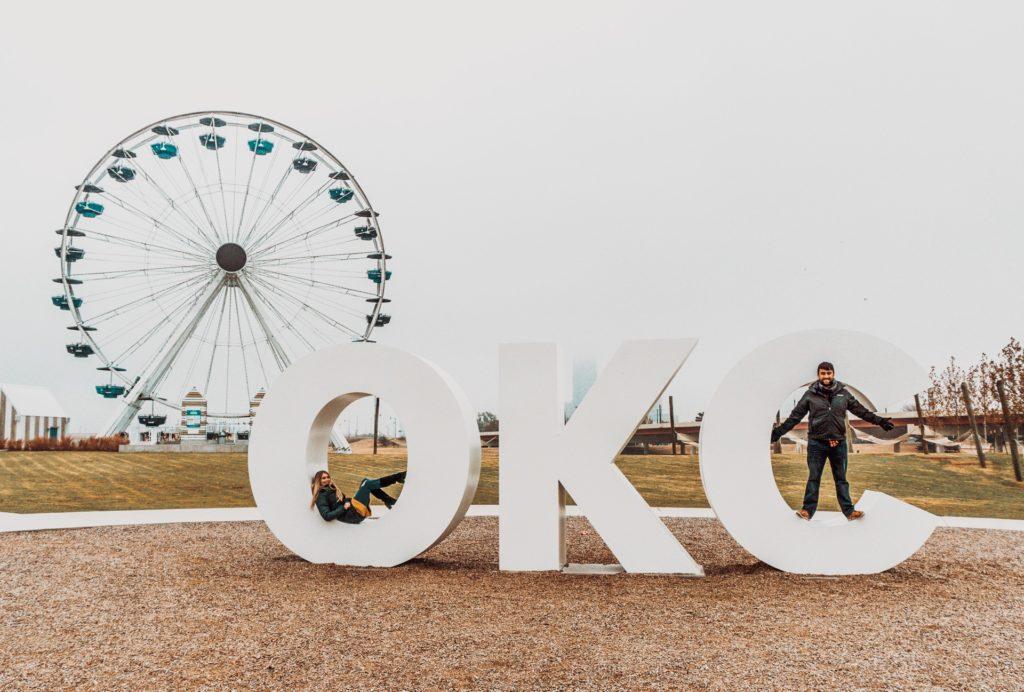 Wheeler Farris Wheel in Oklahoma City