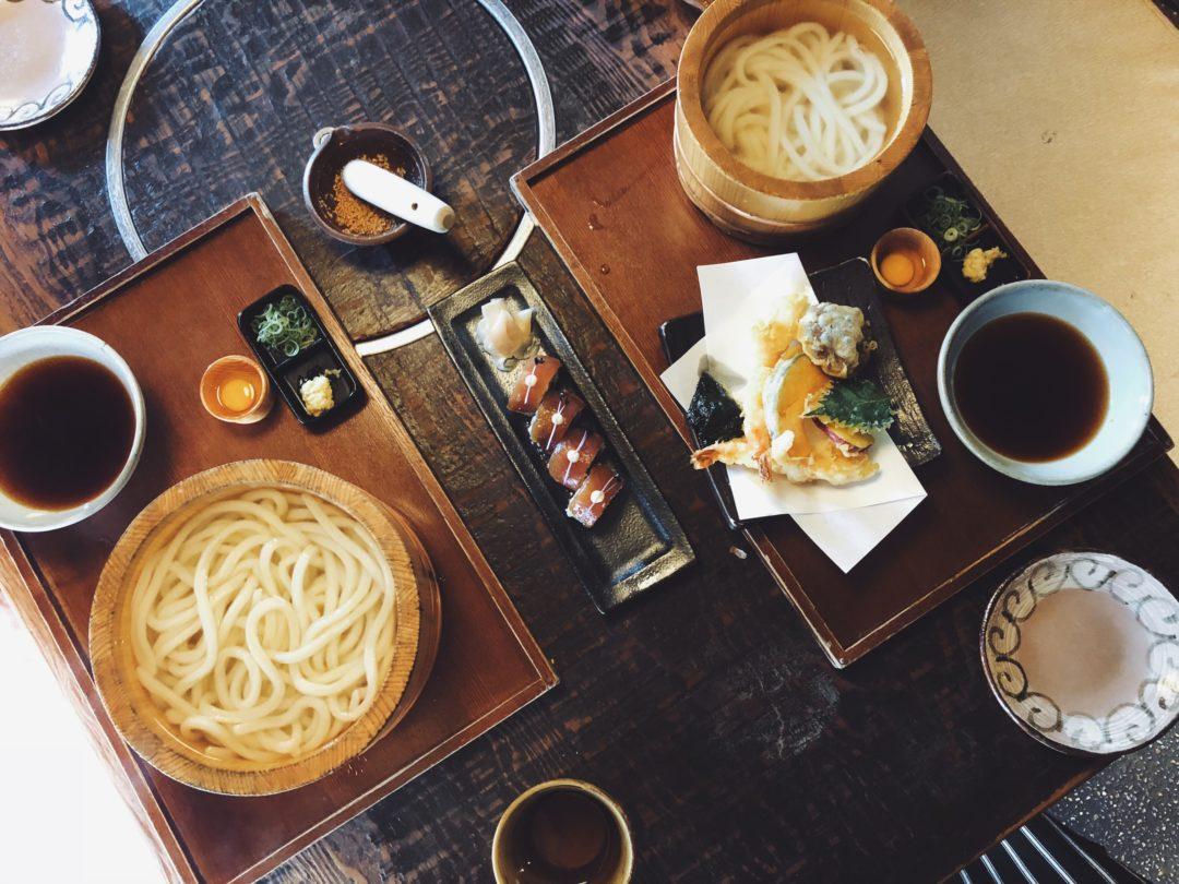 Tsurutontan Soemoncho udon noodle shop in Osaka