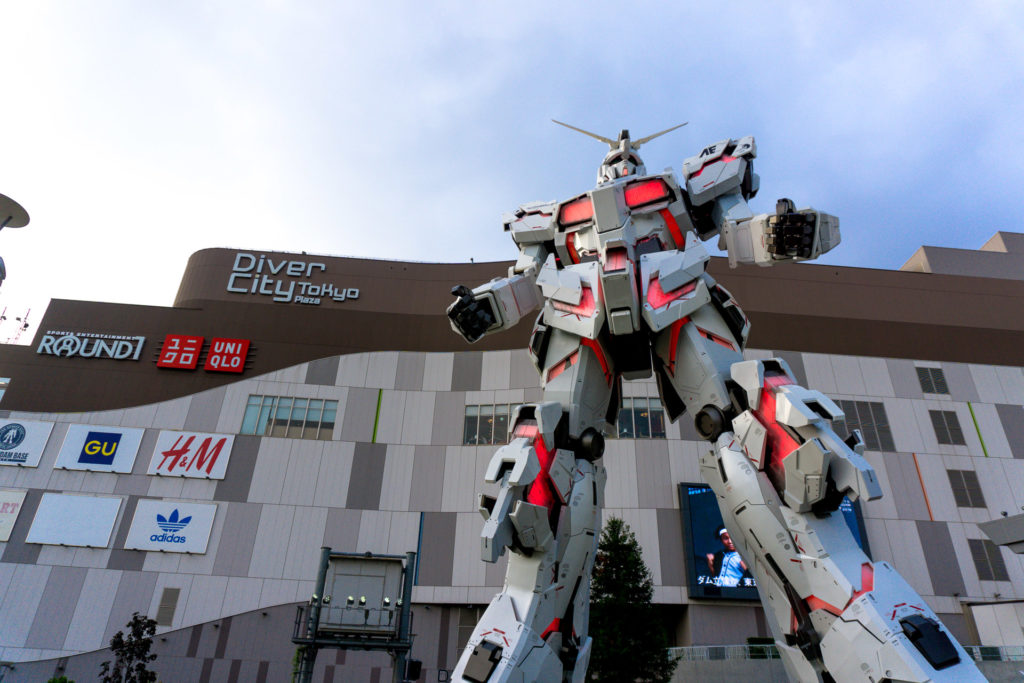 Gundam Statue at DiverCity Tokyo