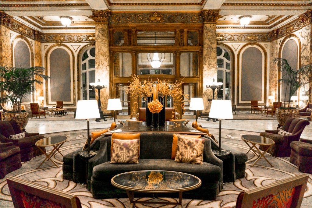 Lobby of the Fairmont San Francisco