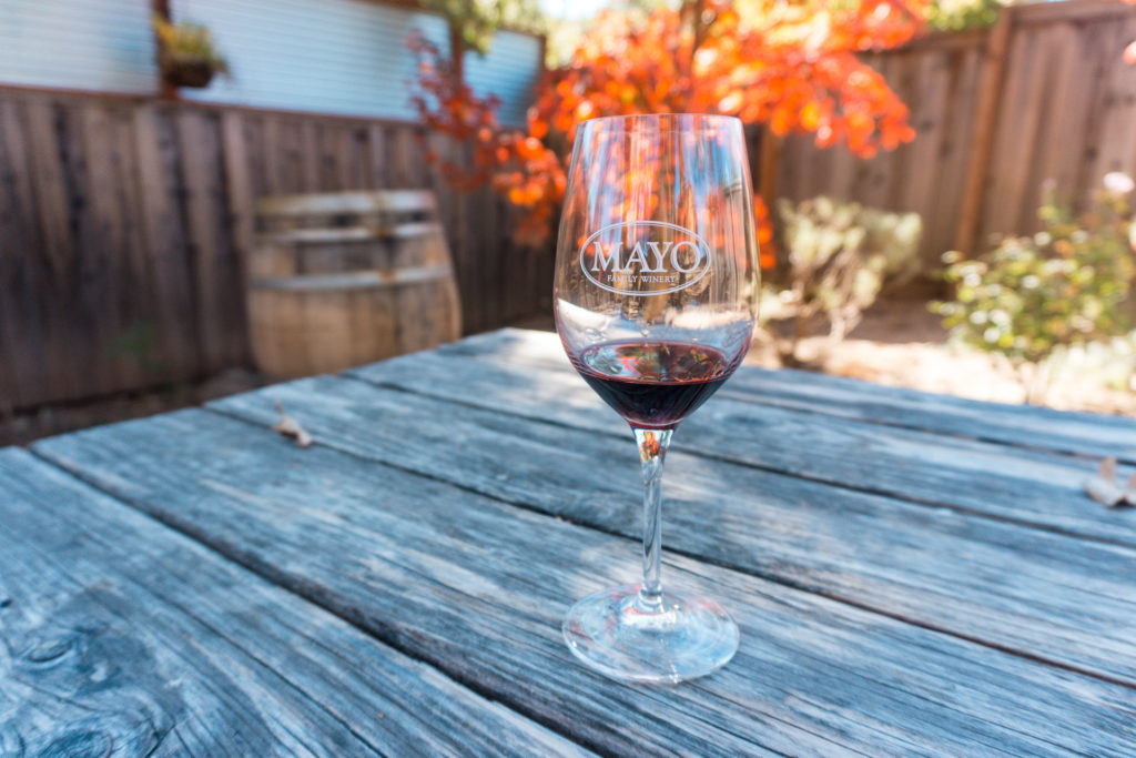 Mayo Winery - tours from San Francisco