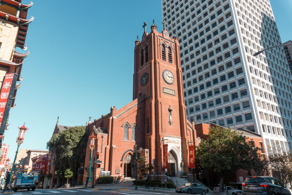 Old St. Mary's Church - Chinatown San Francisco