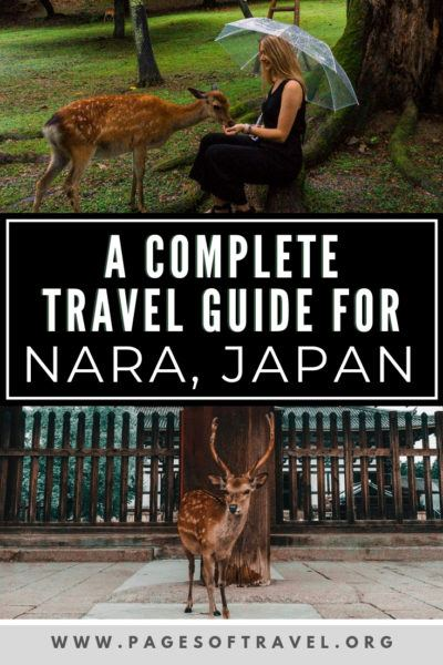 In this Nara Itinerary you'll find a complete 2 day guide to Nara, Japan (but you can also do a day trip too!). There is natural beauty to behold on every corner in Nara with beautiful shrines and temples and of course the ever popular Nara Deer Park.