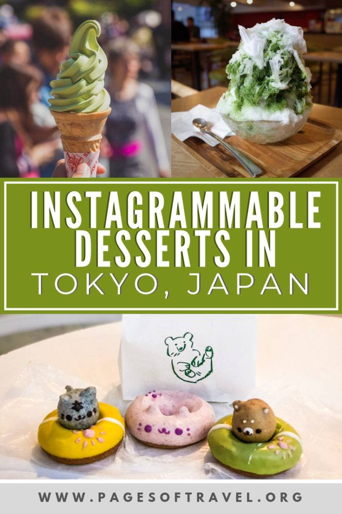 Tokyo, Japan is known for having all kinds of wonderful dining options but what about desserts in Tokyo? This list of yummy Tokyo sweets are worth the calories and make for some great photos too!