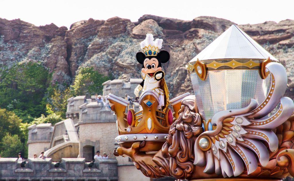 Mickey Mouse at Tokyo DisneySea