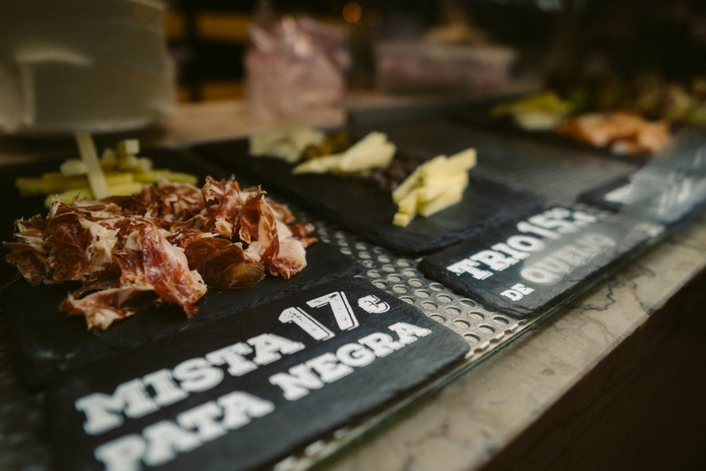 Pata Negra (cured ham) from Time Out Market in Lisbon, Portugal