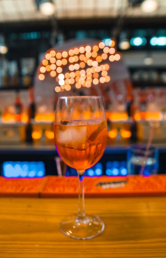 Aperol Spritz at Time Out Market in Lisbon