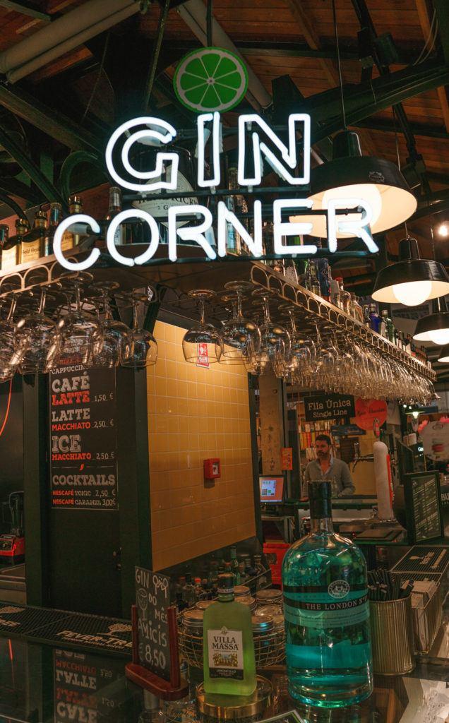 Bar at Campo de Ourique Market