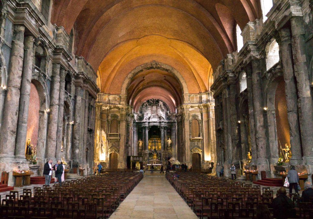 Interior of the Igreja de São Domingos church - Lisbon, Portugal