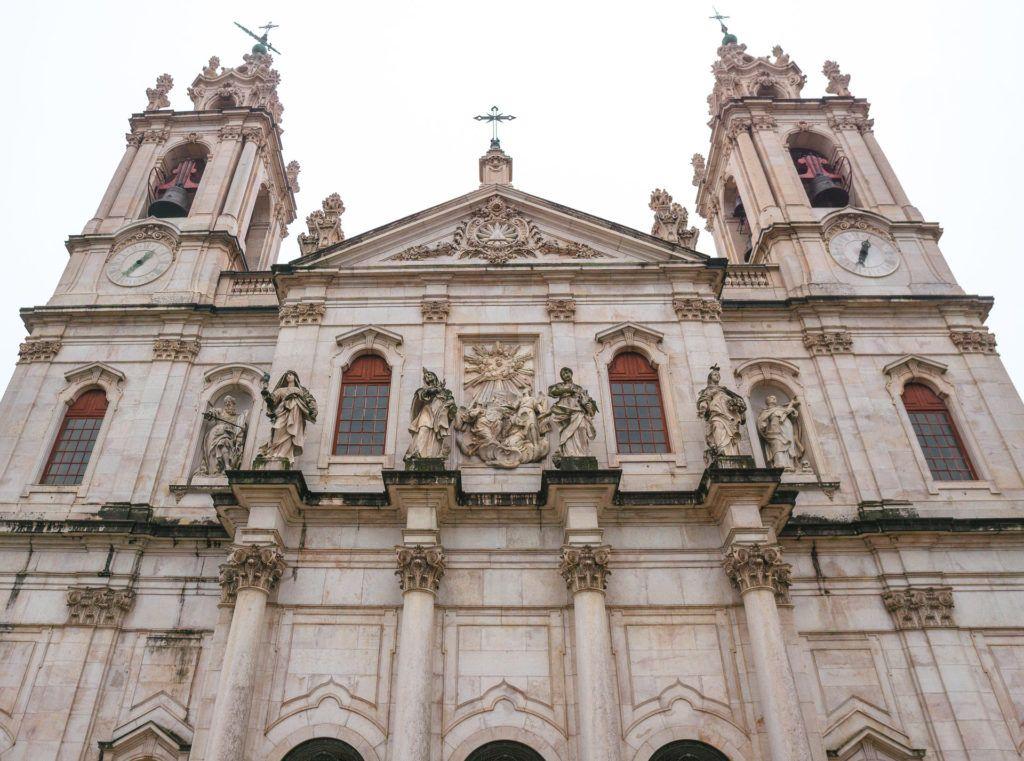 Exterior of Basílica da Estrela Church - Lisbon, Portugal