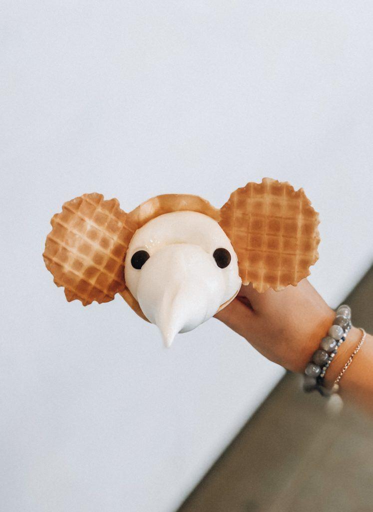 Elephant shaped Ice Cream Cone - Japan