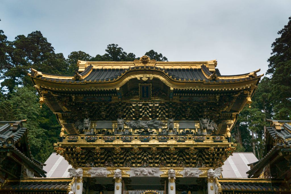 Toshogu Shrine in Nikko, Japan