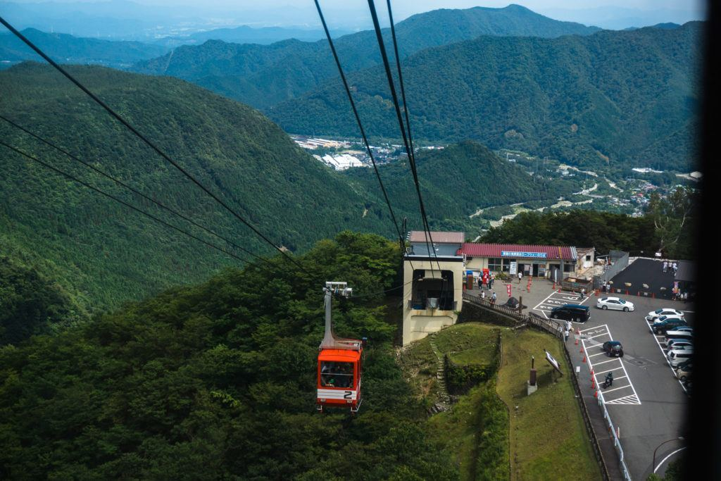 Akechidaira Ropeway in Nikko, Japan