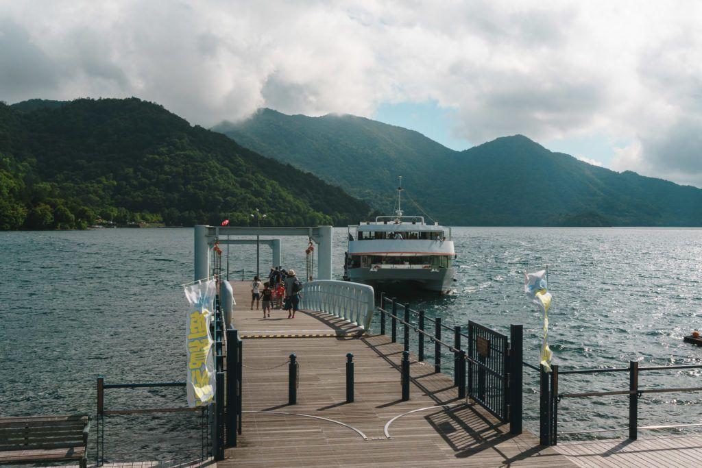 Lake Chuzenji Boat Cruise in Nikko, Japan