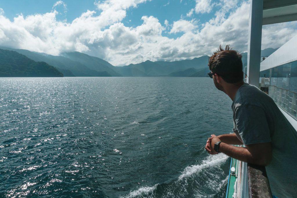 Views from the Lake Chuzenji Boat Cruise in Nikko, Japan
