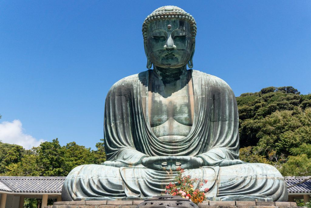 The Great Buddha at Kotoku-in in Kamakura