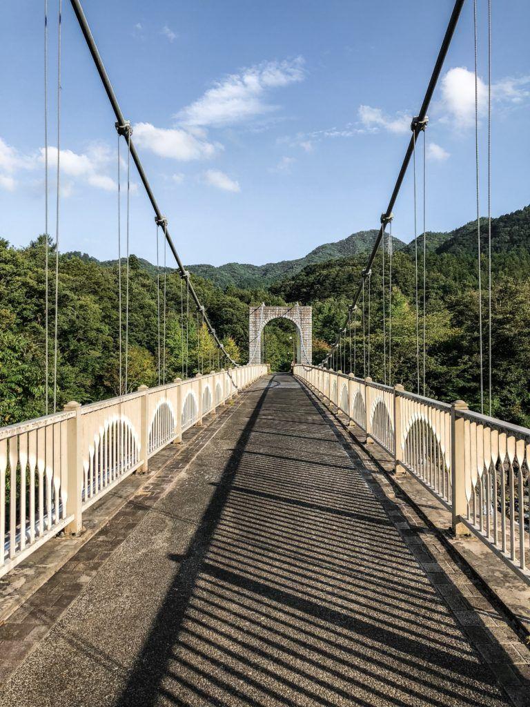 Bridge to get to Kanmangafuchi Abyss.