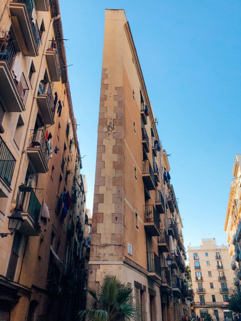 Streets of Barcelona.