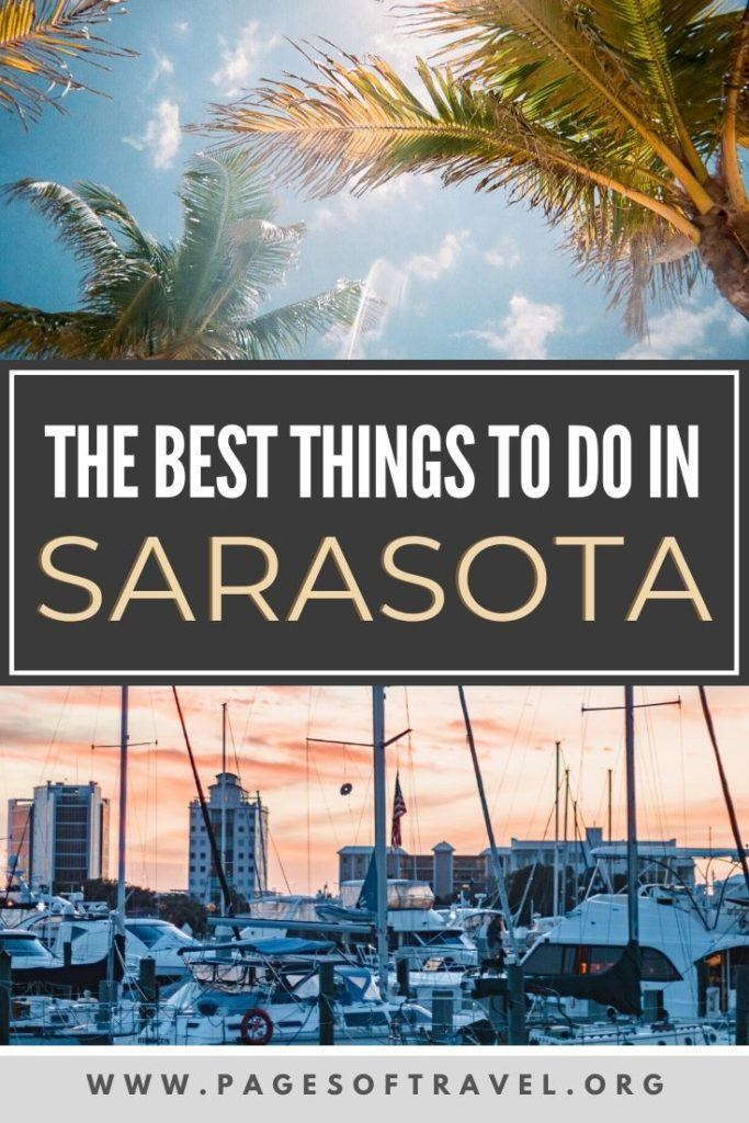 Sarasota, Florida is one of our favorite places in the Sunshine State. There are countless beautiful beaches, unique attractions, and excellent shopping. See why you should visit Sarasota for your next beach vacation!