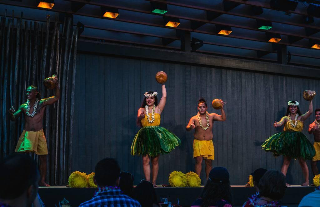 Dances at Feast at Lele in Maui.
