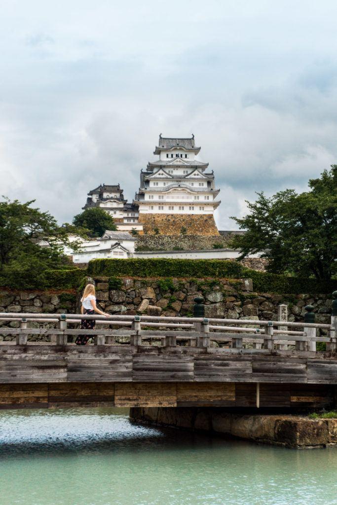Himeji Castle Bridge