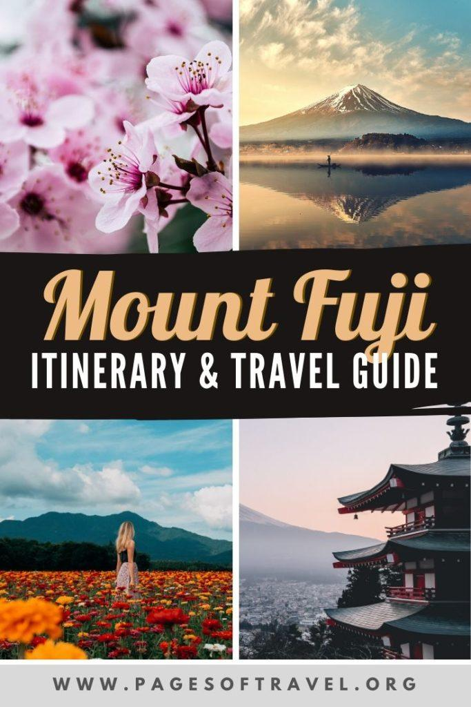 This Fuji Five Lakes itinerary includes a number of popular things to do in the Mt. Fuji area and how to get to Fuji from Tokyo. Lake Kawaguchiko | Fujinomiya | Fujikawaguchiko | Mt. Fuji Itinerary | Tokyo Day Trip To Mt. Fuji | Fuji Travel Guide