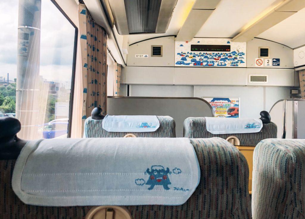Train from Kawaguchiko to Fujinomiya