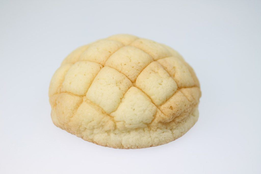 melon pan - popular Japanese sweets