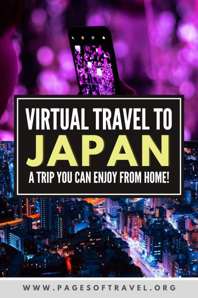 Looking for a fun travel quarantine activity? Take a virtual vacation to Japan! In this virtual Japan trip you can explore the highlights of famous cities such as Tokyo, Osaka, Kyoto, and the Fuji Five Lakes Area all from the comfort of your home.