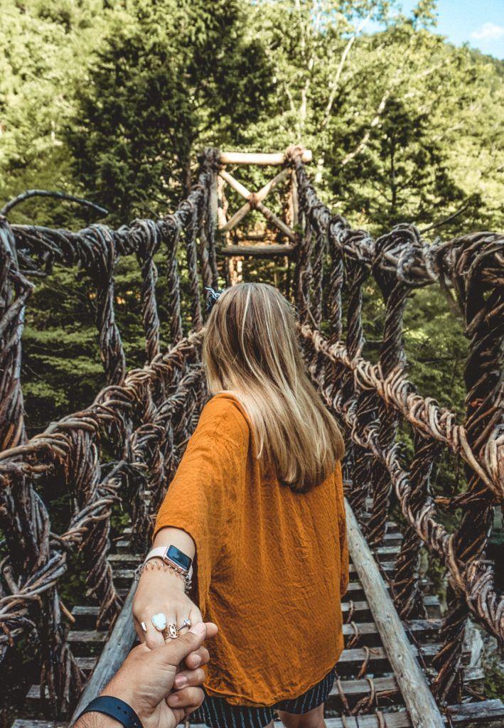 Vine Bridges of the Iya Valley