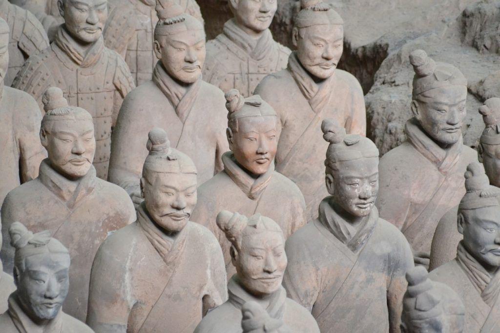 Terracotta Army Taiyo Park - Japan bucket list