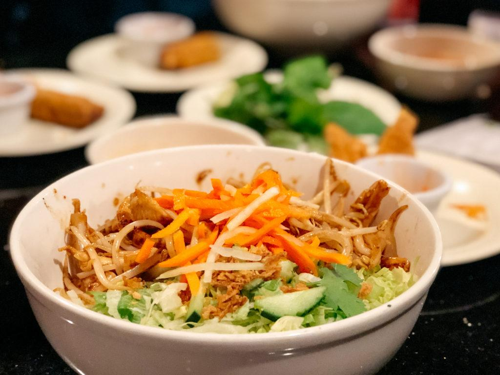 Meal from Pho Thanh Vietnamese restaurant in Bentonville - best restaurants in Northwest Arkansas