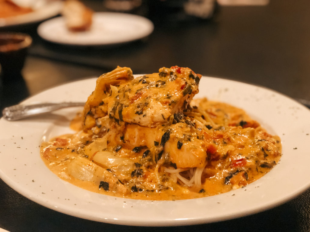 Chicken Tuscany from Fratelli's Italian Grill in Springdale, Arkansas - best restaurants in Northwest Arkansas
