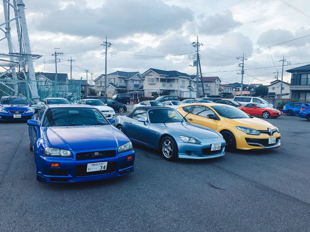 Japanese Sports Cars from Omoshiro Rent-A-Car in Tokyo