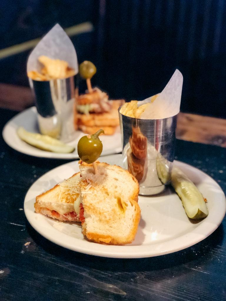 Grilled cheese sandwiches from Hammontree's - best restaurants in Northwest Arkansas