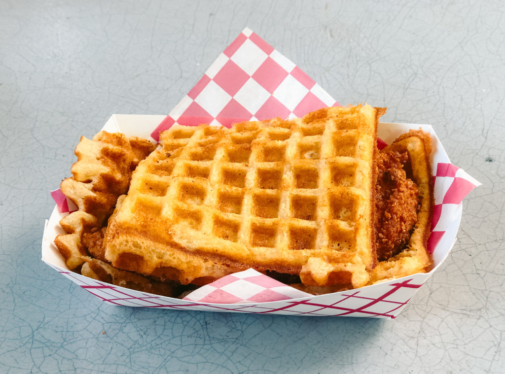 KDK's Chicken & Waffles in Fayetteville - best food trucks in Arkansas