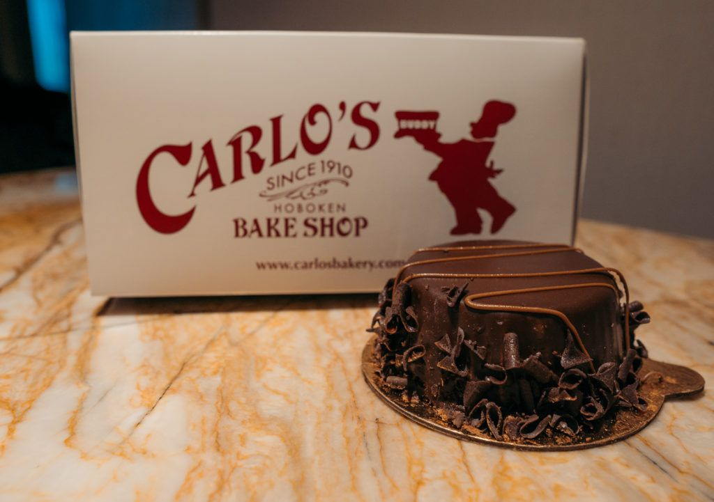 Dark Chocolate Mousse from Carlo's Bakery in Las Vegas - girls trip to Vegas