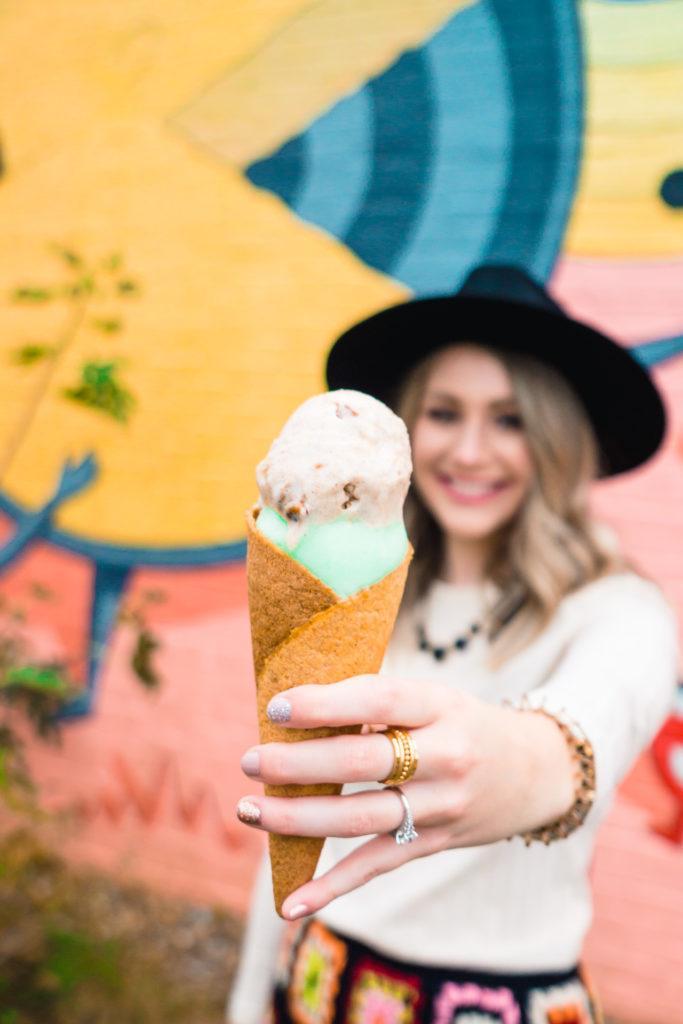 Ice cream from Loblolly Creamery in Little Rock - best desserts in Little Rock