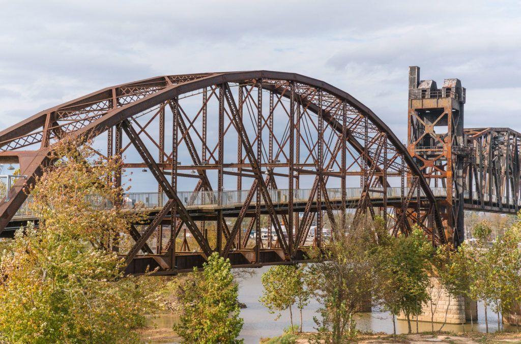 Clinton Presidential Bridge in Little Rock, Arkansas - bridges of Little Rock
