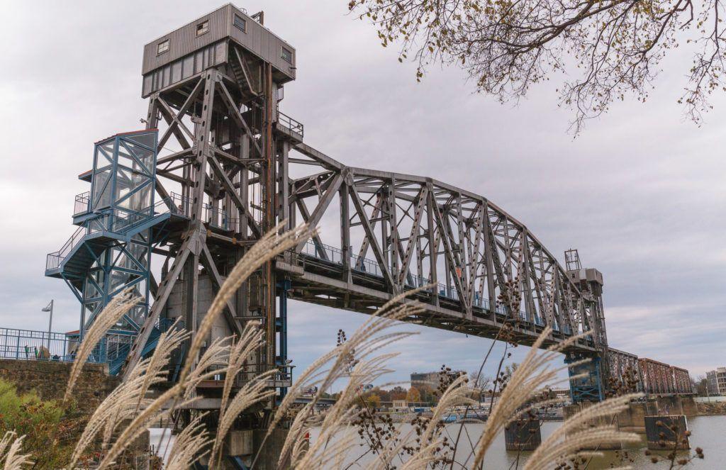 Junction Bridge in Little Rock, Arkansas - things to do on a weekend in Little Rock