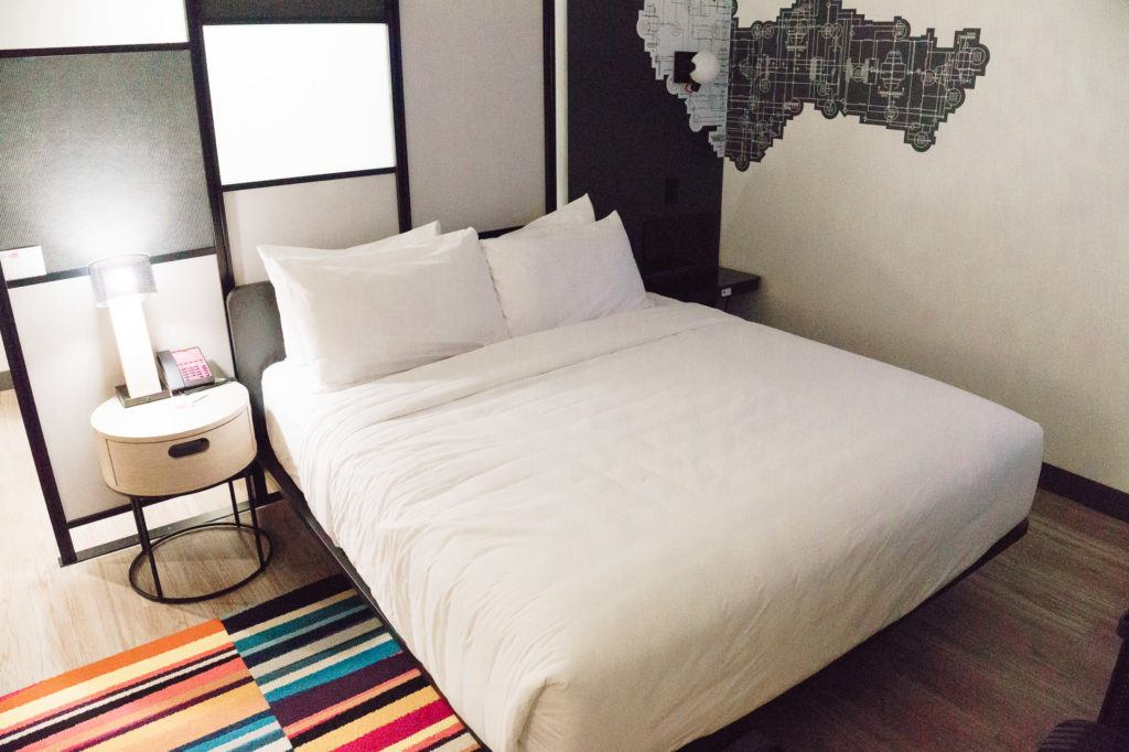 King room at the ALoft Hotel West in Little Rock, Arkansas - places to stay in Little Rock